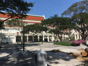A court besides C.U. Auditorium